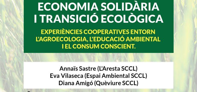Formació ESS i transició ecològica