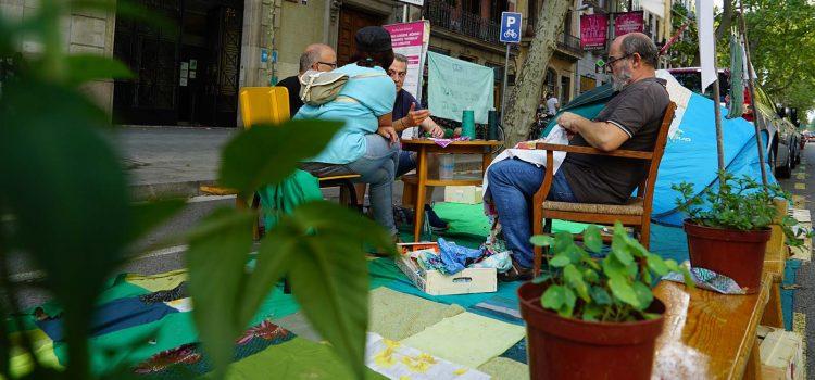El Park(ing) Day 2020 torna als carrers de Barcelona el 18 de setembre per a reivindicar una ciutat més verda i humana