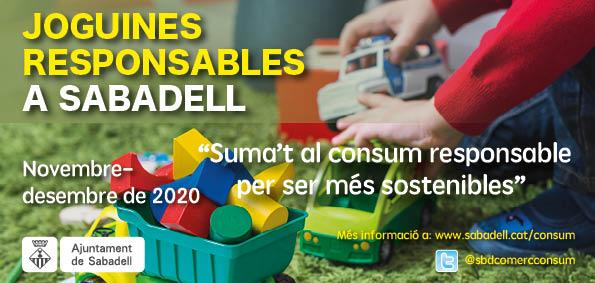 Joguines responsables a Sabadell