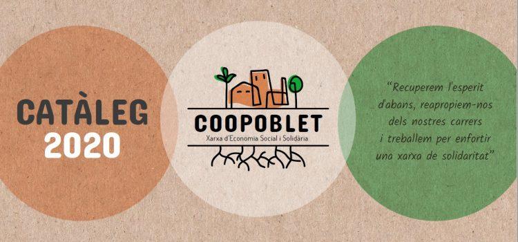 Catàleg de serveis de Coopoblet, la xarxa d'economia comunitària, social i solidària del barri de Sagrada Família (El Poblet)