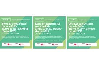 Presentació: Eines de comunicació per la lluita contra el canvi climàtic des de l'Economia Social i Solidària.