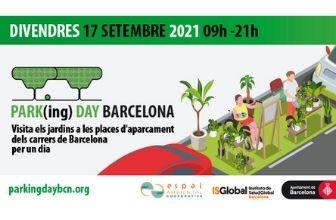 Aquest setembre torna el PARK(ing)DAY BCN 2021 per reivindicar una ciutat més verda i humana